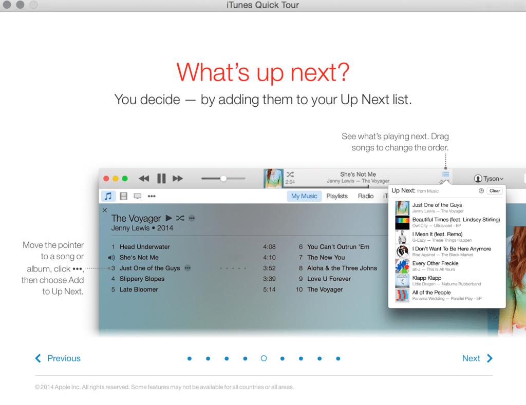 What's next iTunes 12.1