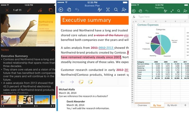 Office update for iOS