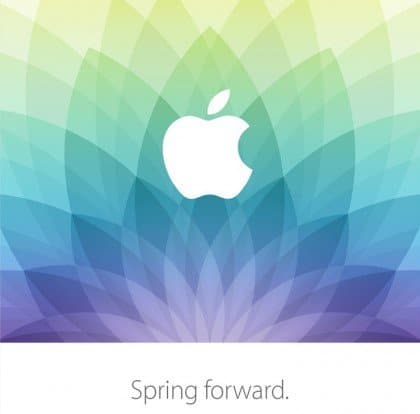 Spring Forward Apple March 9 Event