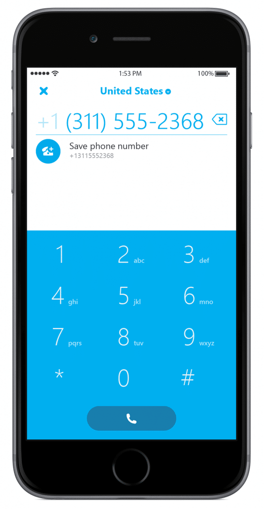 Skype-5.10-for-iPhone-dialer