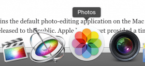 Photos App for OS X