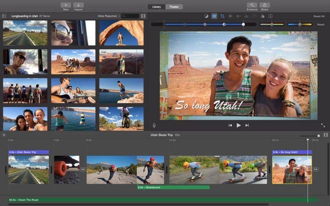 iMovie for OS X