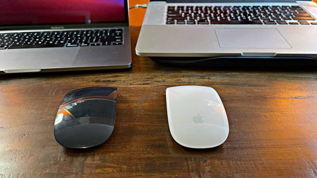 Apple Magic Mouse 1 and 2