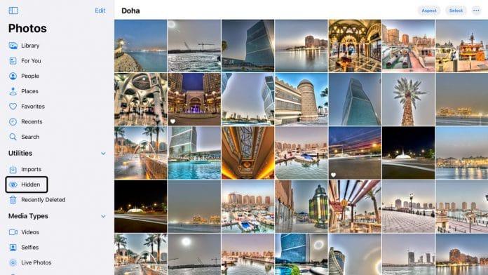 Photos App in iOS 14