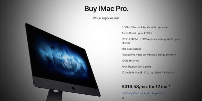 iMac Pro Apple Store Announcement