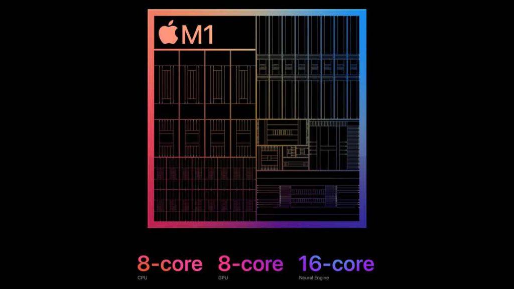 Apple Silicon M1 Chip.