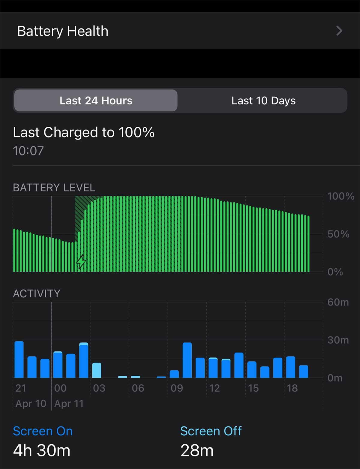 Check Battery Life
