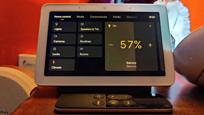 Google Smart Home Control.