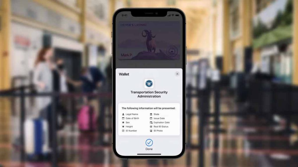 You can use your iPhone soon to store your ID and use it for travel.