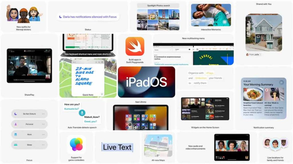 Everything new in iPadOS 15.