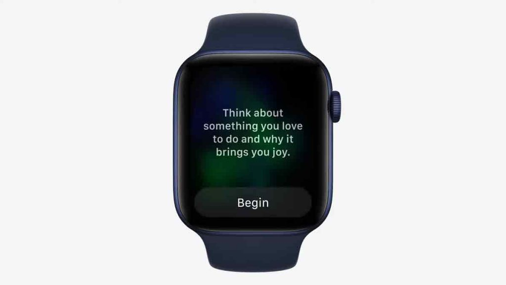 Apple Watch Reflection. What brings you joy?